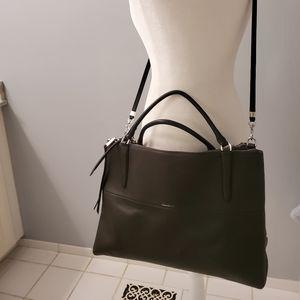 COACH XL BOROUGH BAG W/ DUST BAG, ALPINE MOSS
